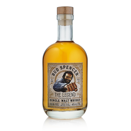 Single Malt Whisky Bud Spencer - The Legend 0,7 l