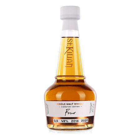 Single Malt Whisky Signature Edition: Four 0,5 l