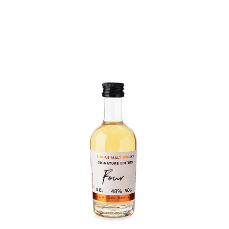 Single Malt Whisky Signature Edition: Four Miniatur 0,05 l